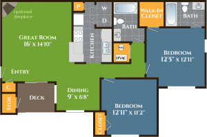 Two Bedroom Apartment For Rent Grove Parkview